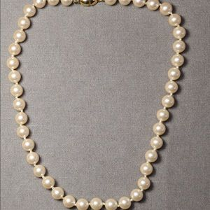 Vintage jewelry Monet pearl necklace